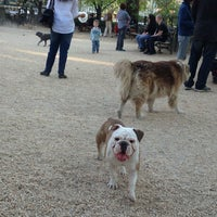 Photo taken at Union Square Dog Run by Elizabeth S. on 4/27/2013