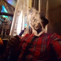 Photo taken at Aloosh Hookah Bar Restaurant by Bashir H. on 3/19/2016