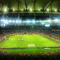 Photo taken at Mário Filho (Maracanã) Stadium by T. A. on 6/16/2013