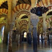 Photo taken at Mezquita-Catedral de Córdoba by Amy C. on 2/4/2013