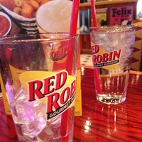 Photo taken at Red Robin Gourmet Burgers by Bill H. on 2/10/2013
