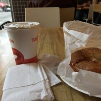 Photo taken at Tal Bagels by Y T. on 3/28/2015