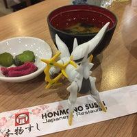 Photo taken at Honmono Sushi by Manoj B. on 11/27/2016