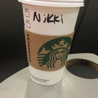 Photo taken at Starbucks by Niki N. on 1/17/2013