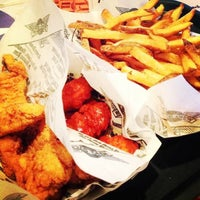 Photo taken at Wingstop by Sahar on 1/19/2013