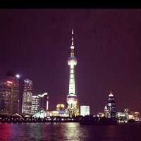 Photo taken at Oriental Pearl Tower by max 虢. on 12/15/2012