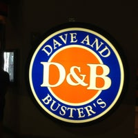 Photo taken at Dave & Buster's by Yoshifumi Y. on 2/28/2013