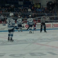 Photo taken at Alfond Arena by Sarah E. on 2/17/2013