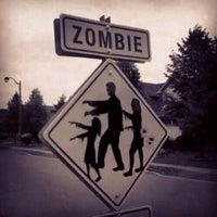 """Photo taken at Zombie Crossing """"Greenway"""" by William F. on 7/16/2014"""