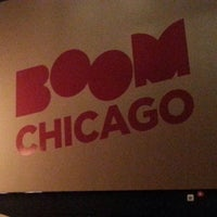 Photo taken at Boom Chicago by Jay P. on 3/15/2013