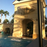 Photo taken at Parc Soleil: Pools and Waterslide by Laura W. on 10/14/2012