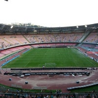 Photo taken at Stadio San Paolo by Antonino D. on 9/20/2012