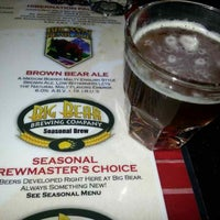 Photo taken at Big Bear Brewing Co. by Robert W. on 4/24/2013