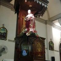 Photo taken at Santa Cruz Church by Angkut R. on 12/24/2012