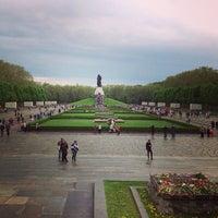 Photo taken at Treptower Park by Elena K. on 5/10/2013