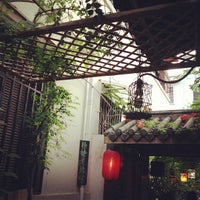 Photo taken at Tian Zi Fang by Kane S. on 7/20/2013
