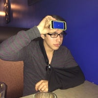Photo taken at Sapphire Asian Cuisine & Lounge by Kurtis W. on 2/21/2014