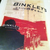 Photo taken at Binkley's Kitchen & Bar by Mealightenment on 12/6/2012