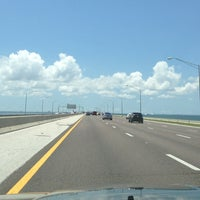 Photo taken at Howard Frankland Bridge by David W. on 5/3/2013
