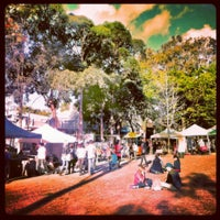 Photo taken at Glebe Markets by jaddan b. on 9/15/2012