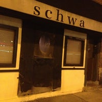 Photo taken at Schwa by Michael B. on 12/22/2012