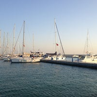Photo taken at Mersin Marina by Anıl Y. on 1/22/2013