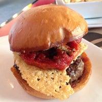 Photo taken at Umami Burger by Julian F. on 10/19/2012