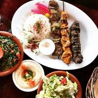 Photo taken at Skaf's Lebanese Cuisine by Julian F. on 12/19/2014