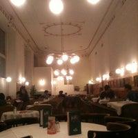 Photo taken at Café Prückel by Eylem C. on 3/1/2013