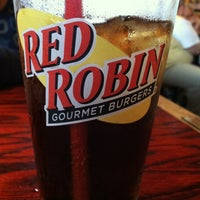 Photo taken at Red Robin Gourmet Burgers by Curtis F. on 10/9/2012