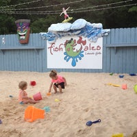 Photo taken at Fish Tales Lakeside Grille by Kellie J. on 5/30/2013
