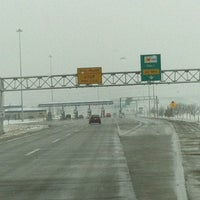 Photo taken at Kansas Turnpike Western Terminus by Ginger C. on 3/23/2013