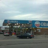 Photo taken at Obama Gas Station by Jeff J. on 10/3/2012