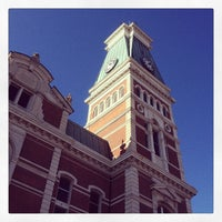 Photo taken at Bartholomew County Courthouse by Jared S. on 11/30/2013