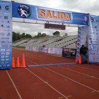 Photo taken at Estadio Wilfrido Massieu by Krinna A. on 11/17/2012