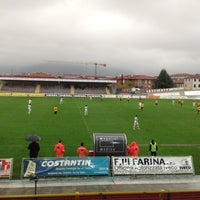 Photo taken at Stadio Velodromo Rino Mercante by Leonardo N. on 11/11/2012