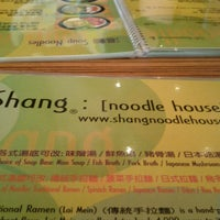 Photo taken at Shang's Noodle House by Susanne S. on 10/19/2013