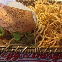 Photo taken at Egg & Burger by Selman A. on 3/15/2013