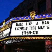 Photo taken at El Portal Theatre by David H. on 4/12/2013
