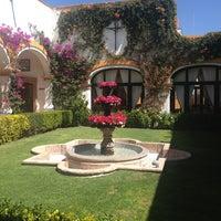 Photo taken at Posada Del Virrey by Josue G. on 2/23/2013