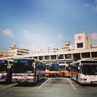 Photo taken at 那覇バスターミナル by Saori on 3/25/2013