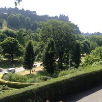 Photo taken at West Princes Street Gardens by Nic on 7/20/2013