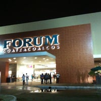 Photo taken at Forum Coatzacoalcos by Pahozitha B. on 3/27/2013