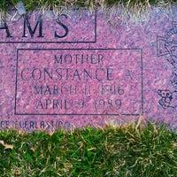 Photo taken at All Saints Cemetery by Darlene K. on 4/9/2013