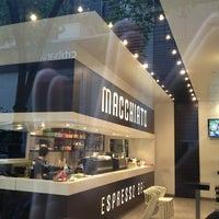 Photo taken at Macchiato Espresso Bar by Dion H. on 5/7/2013