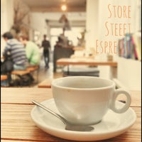 Photo taken at Store Street Espresso by Taishi F. on 4/8/2013
