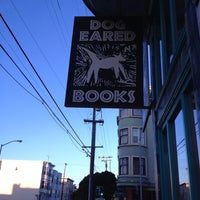 Photo taken at Dog Eared Books by Wayne J. on 6/9/2013