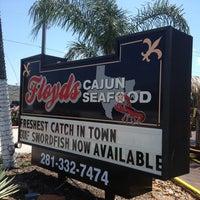 Photo taken at Floyd's Cajun Seafood - Webster by Joe G. on 5/19/2013