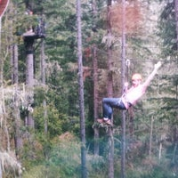 Photo taken at Adrena LINE Zip Line Adventure Tours by Zach K. on 8/18/2013