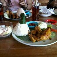 Photo taken at RM. Lombok Ijo by Novita S. on 10/11/2012